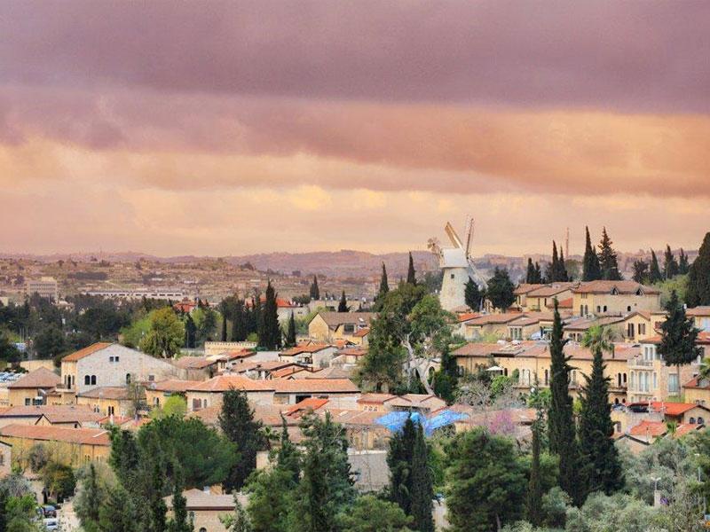 the-windmill-and-yemin-moschee-jerusalem
